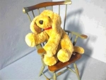 Click here to enlarge image and see more about item 06200230: GUND Light Tan Floppy Puppy Dog.