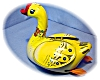 Click to view larger image of Old Tin Wind Up Duck Made In China (Image2)