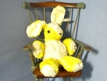 Click here to enlarge image and see more about item 06220208: Old Plush Musical 'Character' Rabbitt