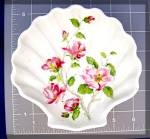 Click to view larger image of French Limoge Porcelain Shell Dish. (Image2)