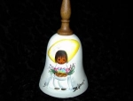 Click here to enlarge image and see more about item 06230212: Degrazia Signed Bell.