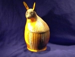 Click here to enlarge image and see more about item 06230228: Animal Basket, looks like a FOX