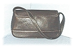 Black Kenneth Cole Leather Bag/Purse