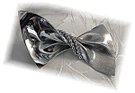 Click to view larger image of Beautiful NAPIER Sterling Silver Bow Brooch (Image1)