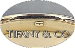 Click here to enlarge image and see more about item 0627200537: TIFFANY Bangle Bracelet Sterling Silver Signed