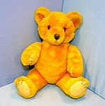 Click here to enlarge image and see more about item 0630200804: 12 inche Golden Teddy Bear