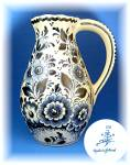 Click to view larger image of Delft Blue pitcher made in Holland  (Image1)