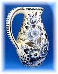 Click to view larger image of Delft Blue pitcher made in Holland  (Image3)