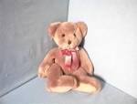 Click here to enlarge image and see more about item 0701200213: Soft Gold TY 13 InchTeddy Bear