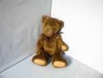 Click here to enlarge image and see more about item 0701200215: 20 Inch Collectibe 1985 Brown BOYDS Bear