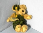 Click here to enlarge image and see more about item 070120029: BOYDS LILLIAN Collectible Bear
