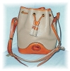 Click to view larger image of  Dooney & Bourke  Large Leather Bucket  Bag (Image2)