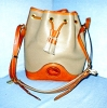 Click to view larger image of  Dooney & Bourke  Large Leather Bucket  Bag (Image3)