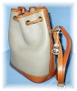 Click to view larger image of  Dooney & Bourke  Large Leather Bucket  Bag (Image5)