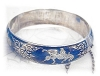 Click to view larger image of Sterling Silver Bangle Bracelet SIAM (Image2)