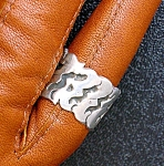 Click to view larger image of Sterling Silver Eagle 3 Ring EBS Mexico (Image1)