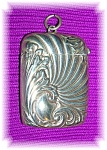 Click to view larger image of Vesta Match Box Pendant Antique Silver Plate.  (Image1)