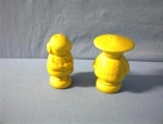 Ceramic Oriental Look Salt & Pepper Shakers