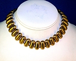 Victorian Gold  Choker Necklace