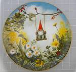 Click to view larger image of Vintage Gnome Little Swinger  Plate 13731 of 15000 (Image1)