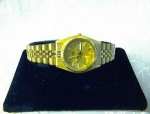 SEIKO Date  Ladies Goldtone Band Wrist  Watch