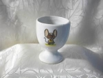 Click here to enlarge image and see more about item 0720200251: Egg Cup China with Mouse Taiwan and England
