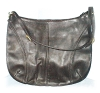 Click to view larger image of Enormous Saks Fith Avenue Black Leather Bag (Image2)