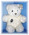 Click here to enlarge image and see more about item 0721200501: Lovable Gund Bear named Vanilla Truffle