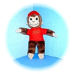 Click here to enlarge image and see more about item 0721200506: 10 Inch Curious George Monkey