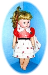 Fabulous Large Golden Hair Vintag Rubber Doll
