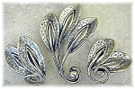 Click to view larger image of Wonderful Vintage Danecraft Brooch & Earrings (Image1)