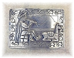 Click to view larger image of Peruvian Silver  800 Brooch Large (Image1)