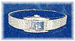 Click here to enlarge image and see more about item 0725200450: Sapphire Blue Face SEIKO Wrist Watch
