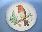 Click to view larger image of Goebel 1973 Wild Life Wall Plate ROBIN (Image1)