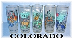 Click to view larger image of 5 Vintage COLORADO TUMBLERS CENTENNIAL (Image1)
