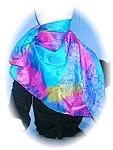 Click to view larger image of PASTEL SILK SCARF (Image1)