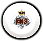 Click here to enlarge image and see more about item 0731200518: QUEEN ELIZABETH SILVER JUBILEE 1977 PLATE