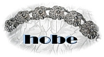 Click here to enlarge image and see more about item 078200710: Sterling Silver HOBE Flower  Bracelet