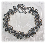 Taxco Mexico Sterling Silver Spratling Style Bracelet