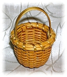 Click to view larger image of 2 Inch Signed H. Hays 1993 Nantucket Basket (Image1)