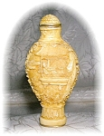 Click to view larger image of CINNABAR CHINESE CREAM COLOR SNUFF BOTTLE (Image1)