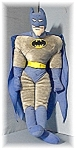 Click here to enlarge image and see more about item 0811200427: 26 Inch 1989 Plush BATMAN By Ace Toys