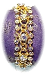 Click here to enlarge image and see more about item 0812200328: Fabulous Jewelled HATTIE CARNEGIE Bracelet