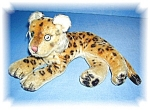 Click to view larger image of Mohair  Green Eyes 11 inch  Tiger (Image1)