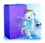 Click here to enlarge image and see more about item 0821200573: Annette Funicello Mohair BIRDIE Bear 13 1/2  Inch