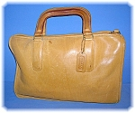 Click to view larger image of 13 Inch Light Tan Bonnie Cashin COACH LeatherBag (Image1)