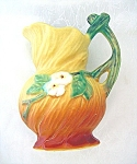 Weller Roses Pottery Pitcher Vintage