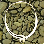 Sterling Silver Taxco Mexico Hinged Collar Necklace