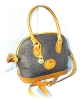 Click to view larger image of DOONEY & BOURKE Navy Blue & Tan Bag (Image4)