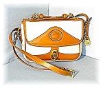 Click to view larger image of Tan & Cream DOONEY & BOURKE Shoulder Bag (Image1)